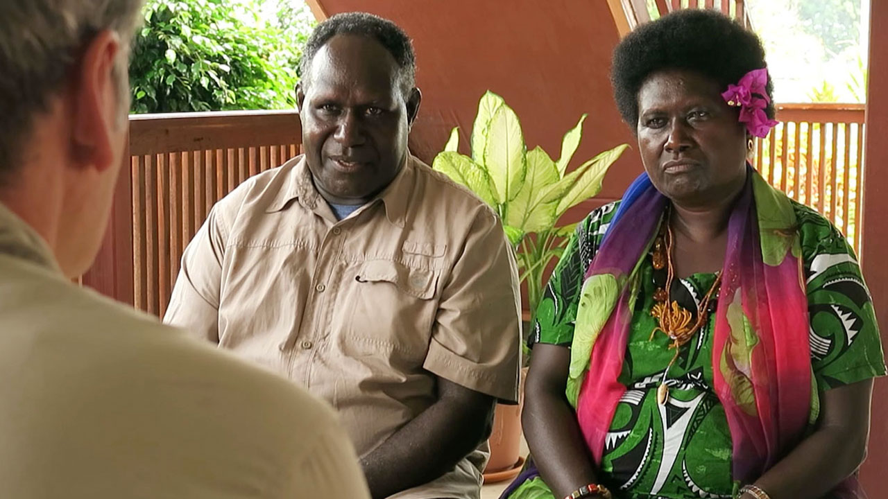 Does China have a master plan for the future of Bougainville?