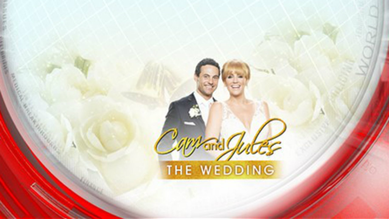 Cam and Jules - the wedding Part Five