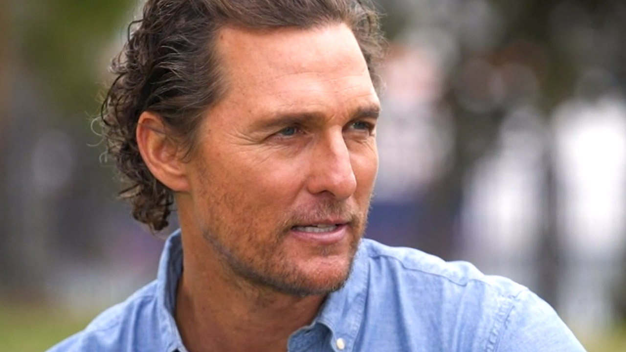 Matthew McConaughey's close encounter with dangerous Aussie animal