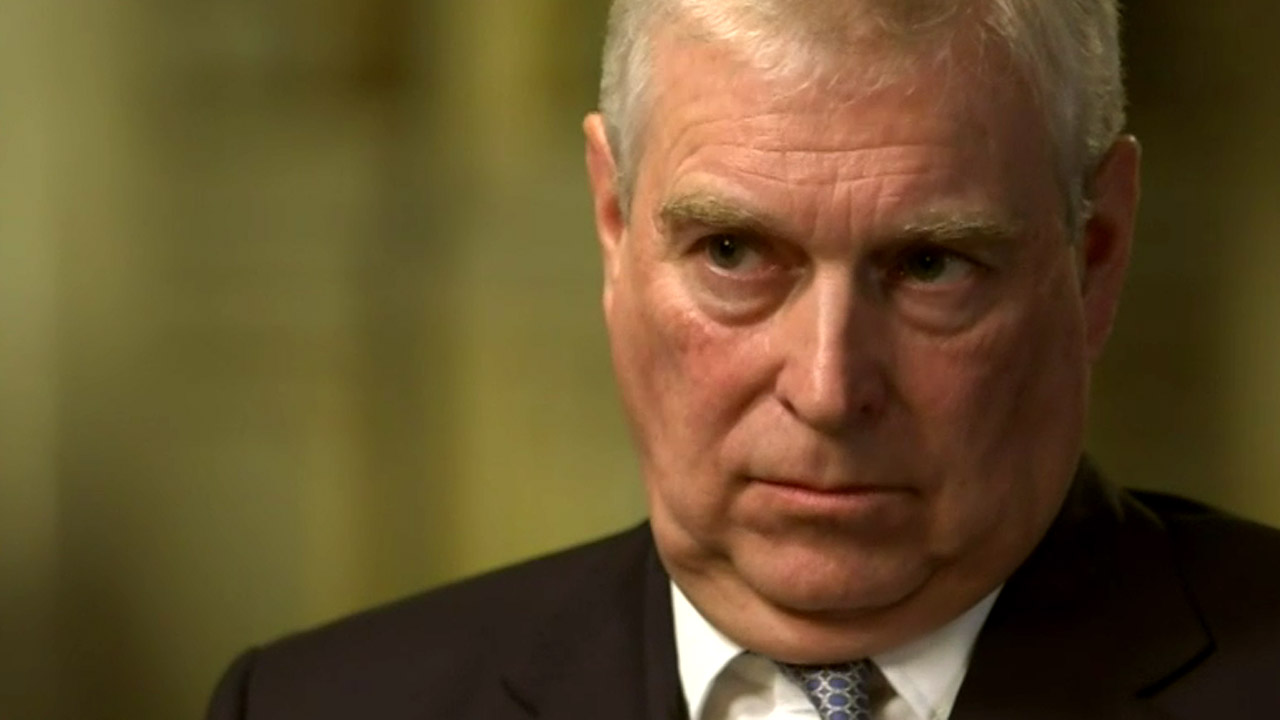 Prince Andrew seen in public for first time since quitting