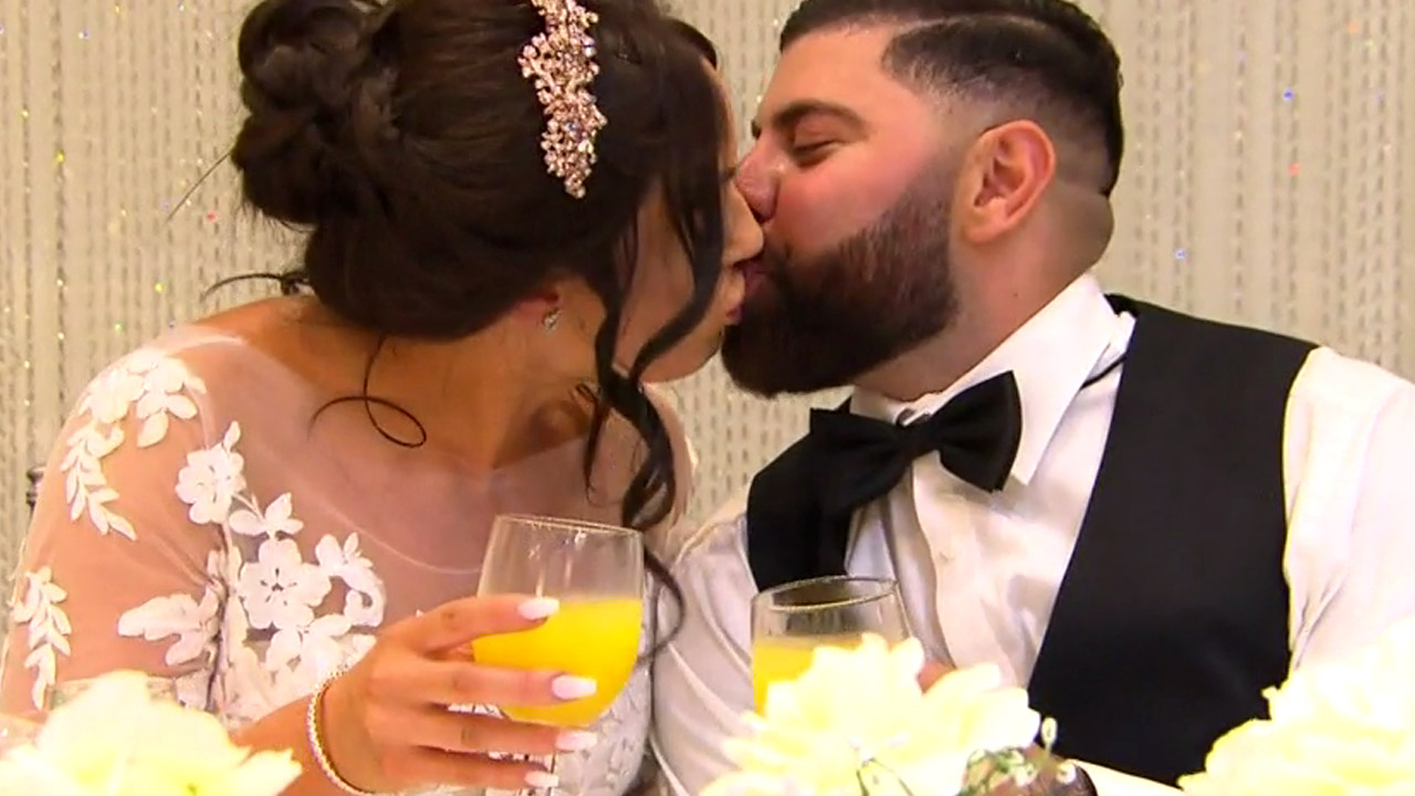 Cancer-battling mum weds love of her life in beautiful ceremony