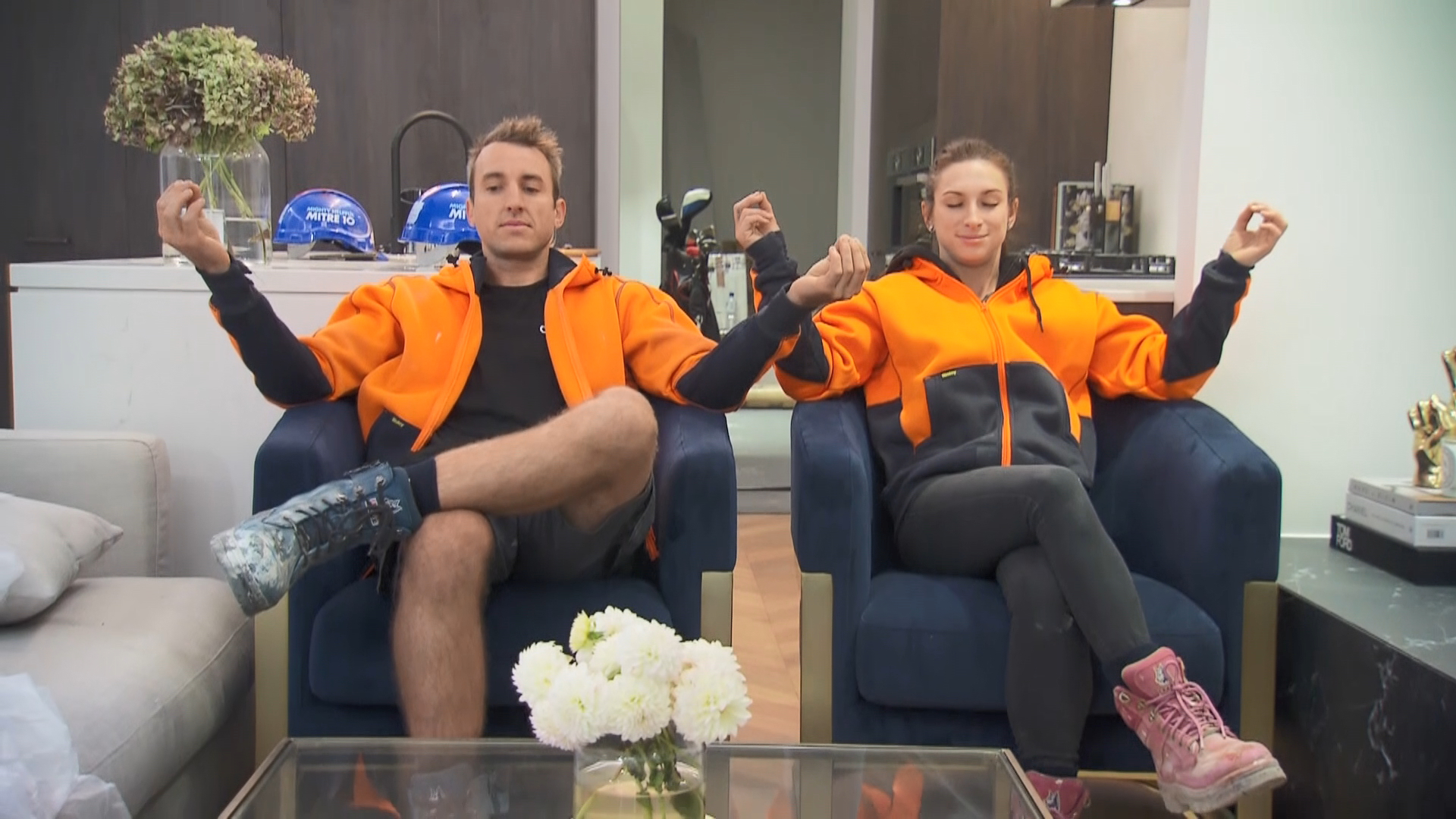 Jesse and Mel's funniest moment on The Block