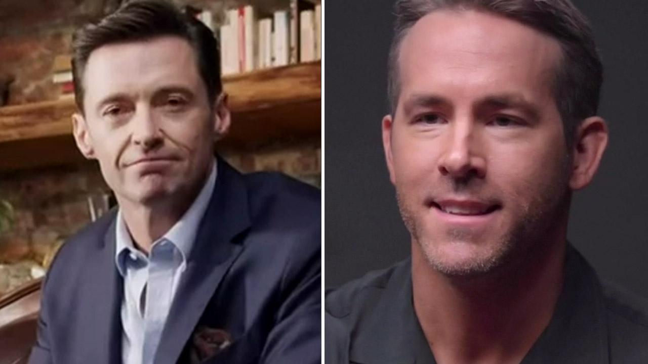 Ryan Reynolds' feud with Hugh Jackman escalates