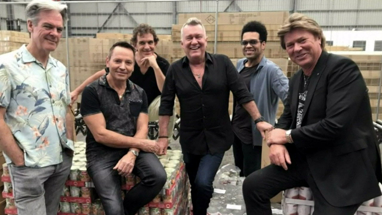 How Cold Chisel is giving back to thousands of Aussies in need