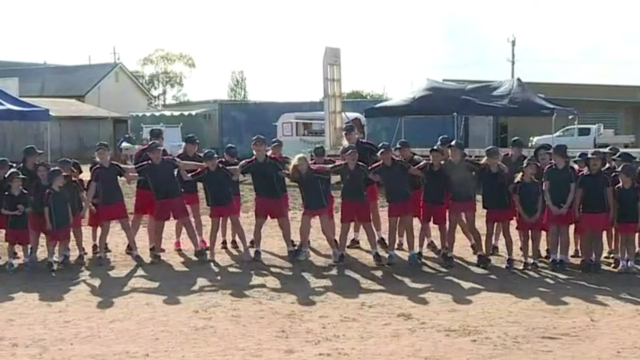 These drought-affected kids are dancing for rain