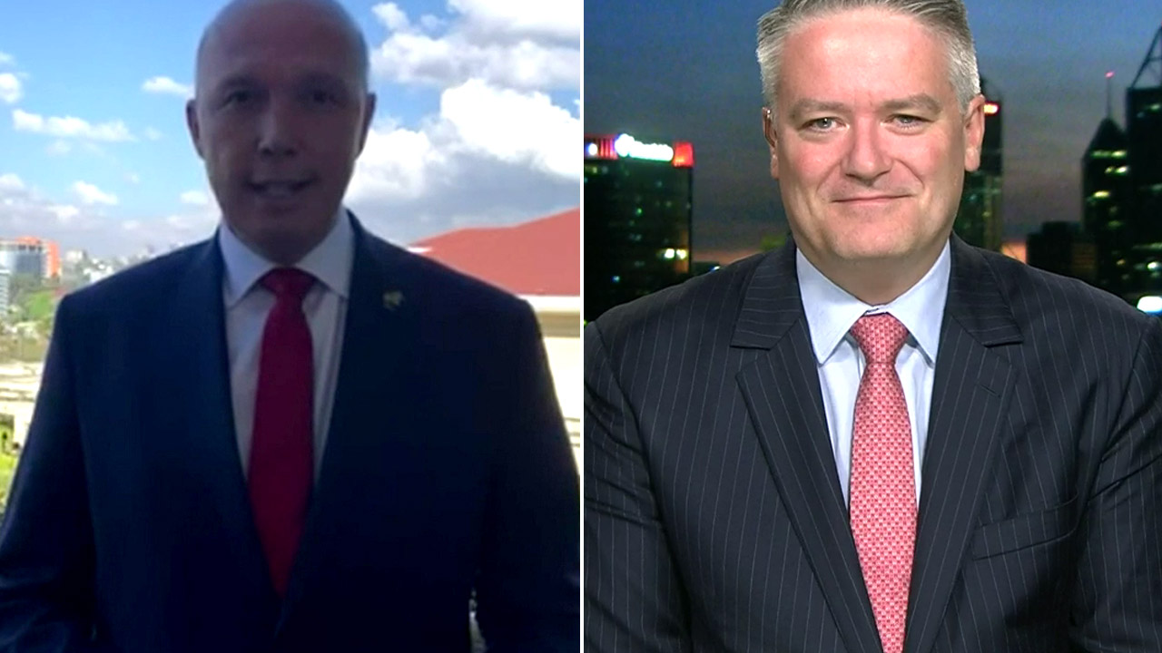 Dutton's cheeky message to 'eager' Cormann