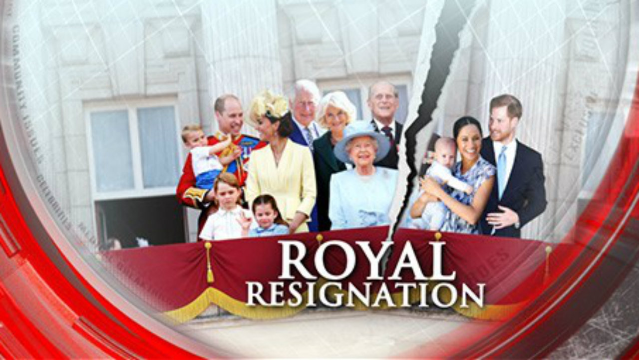 Royal resignation