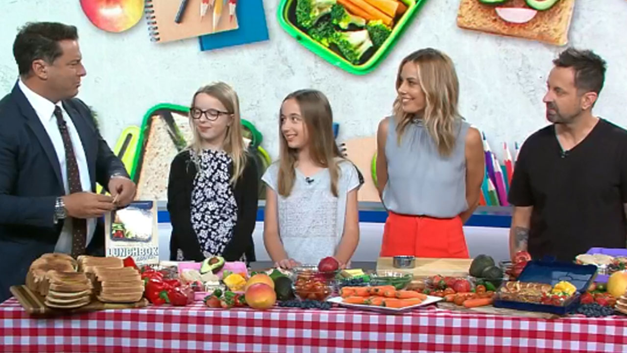 'Lunchbox dad' George Georgievski shares tips for back to school lunches