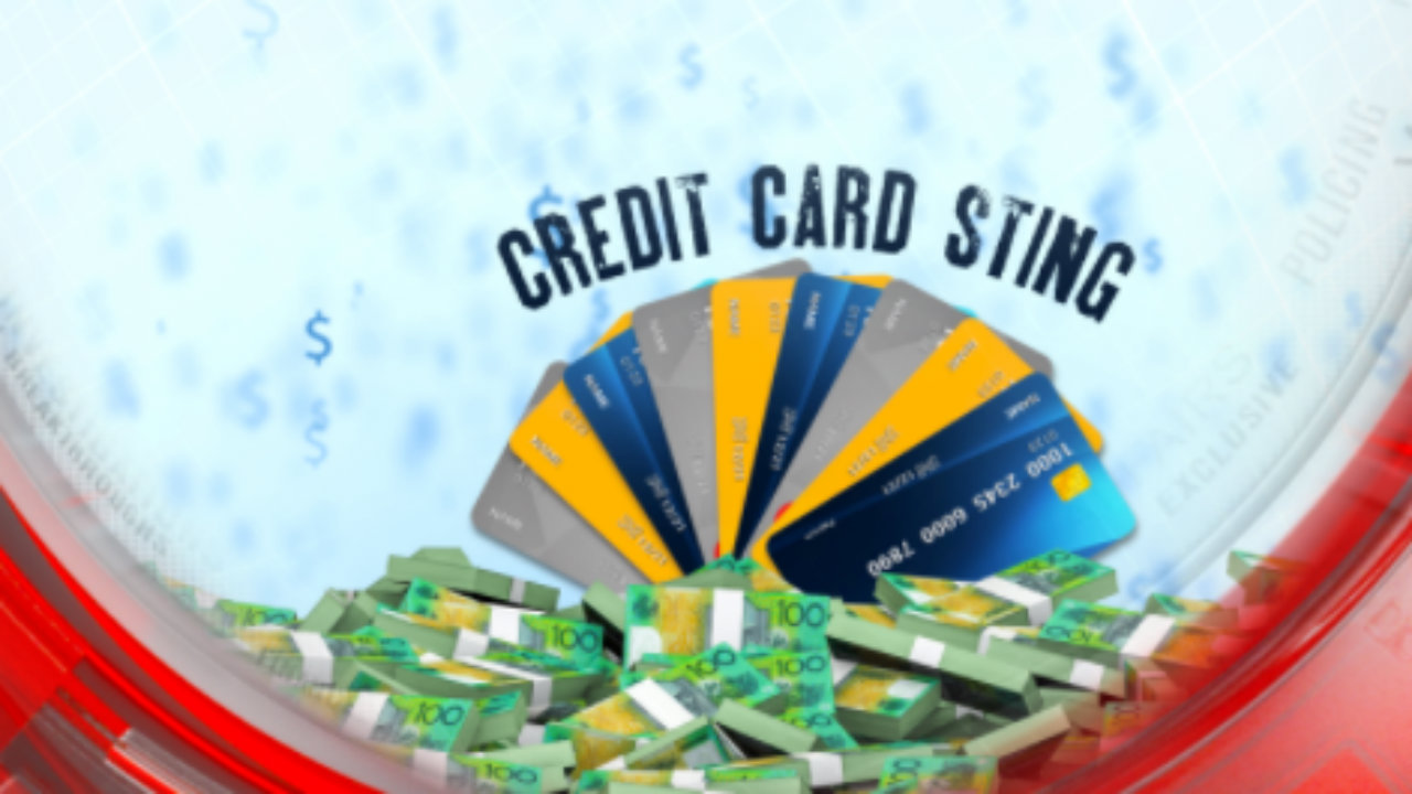 Credit card sting