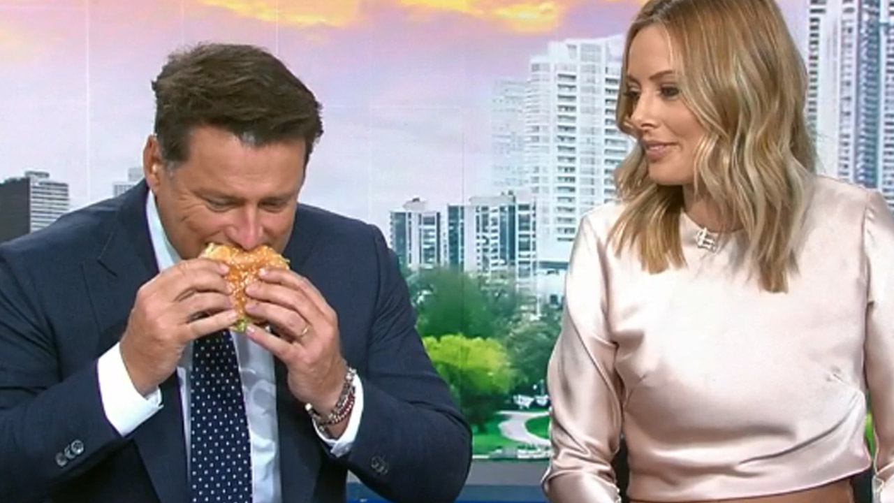 We made the Today hosts taste-test the new Macca's veggie burger