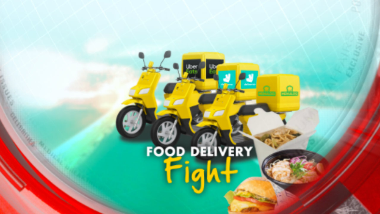 Food delivery fight