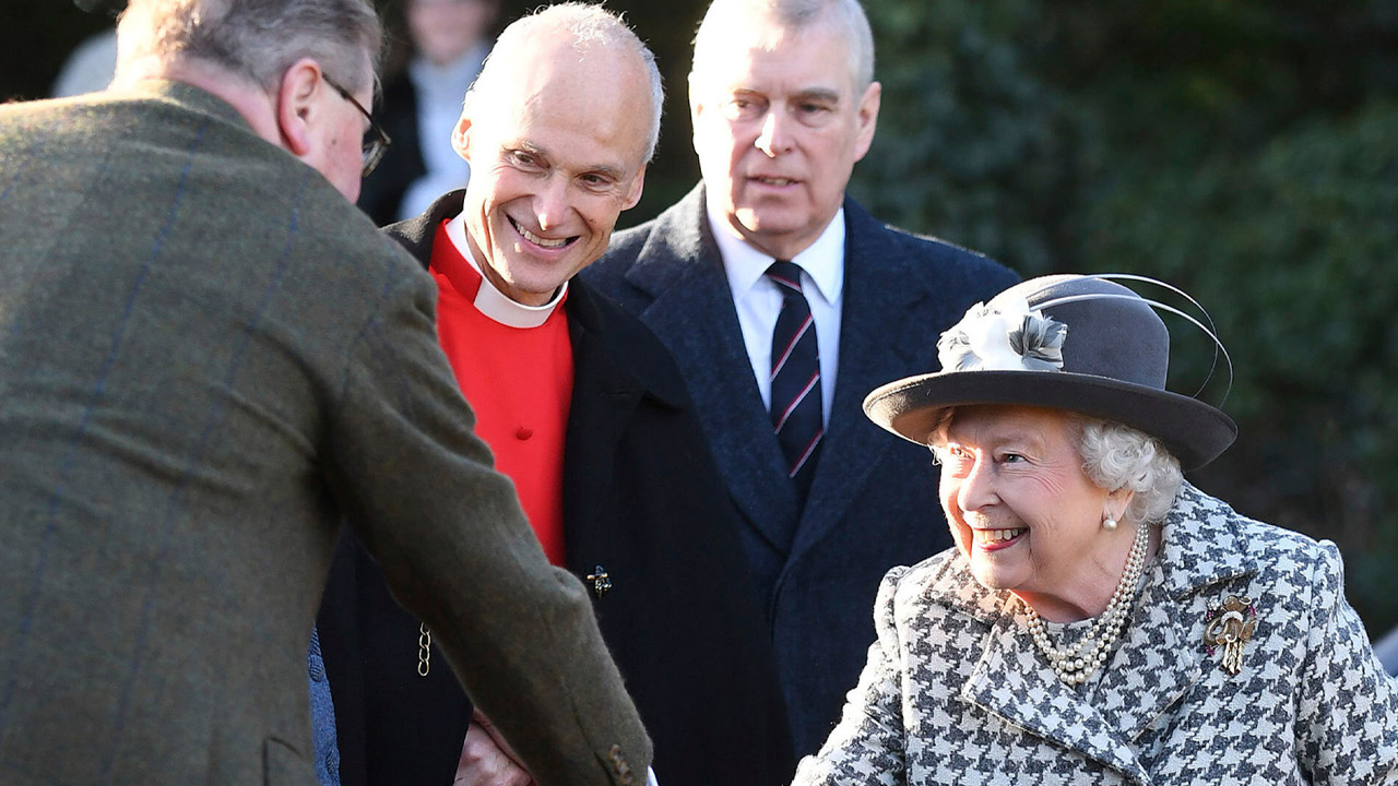 Why the Queen is standing by Prince Andrew