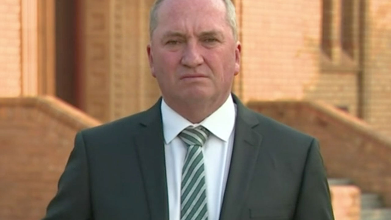 Barnaby Joyce on Nationals leadership spill