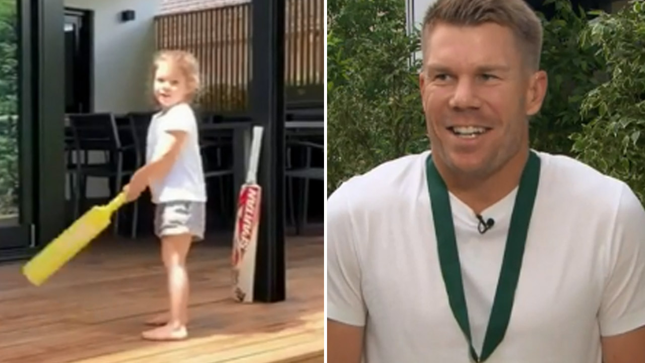 David Warner reveals daughter is a cricket prodigy