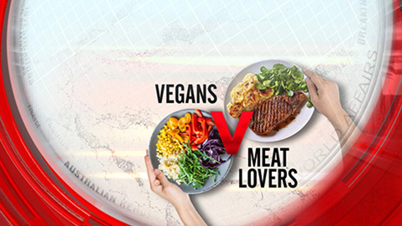 Vegans vs. meat lovers