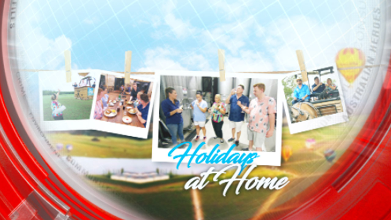 Travel Guides take a holiday at home
