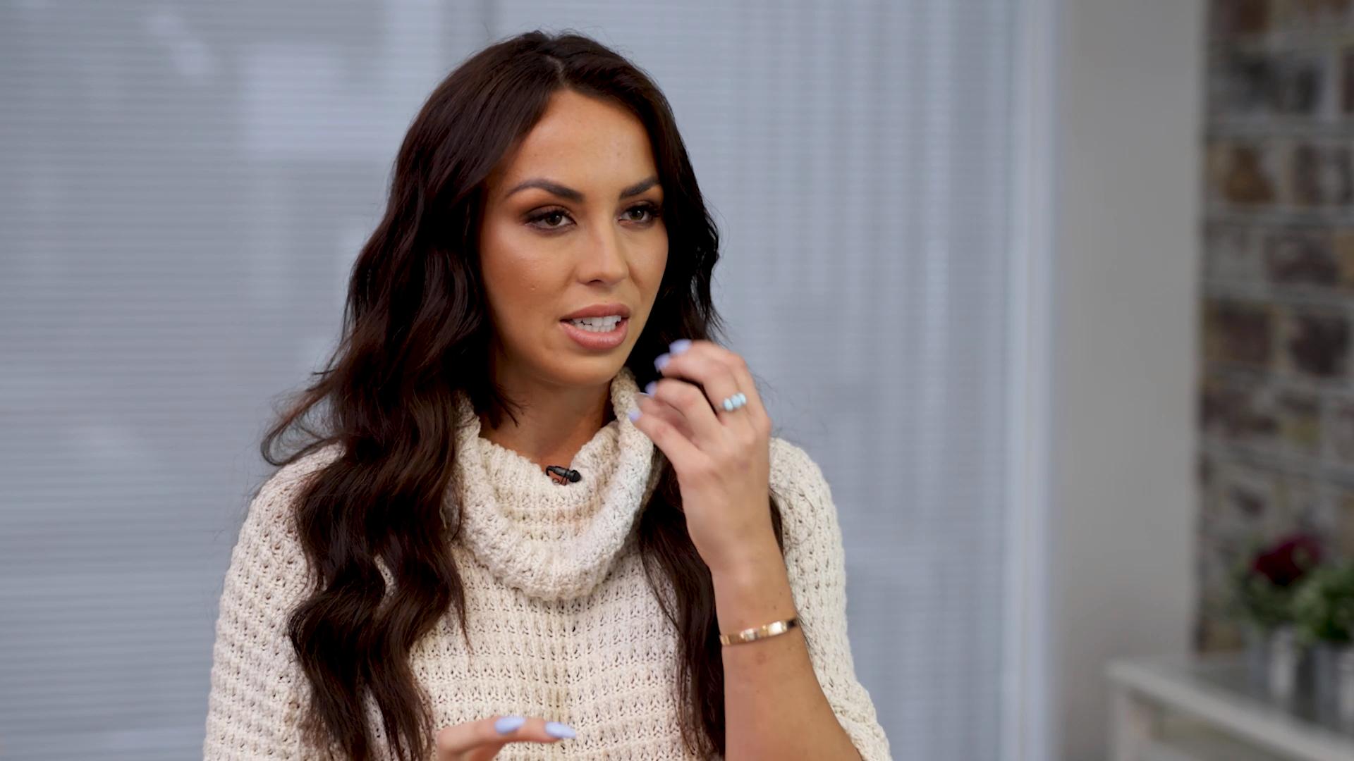 Natasha reveals her lip plumping side hustle