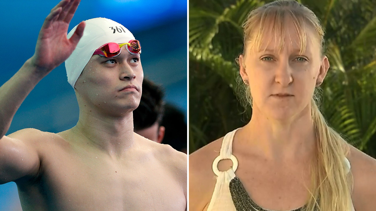 Aussie swimmers applaud Sun Yang's eight year ban