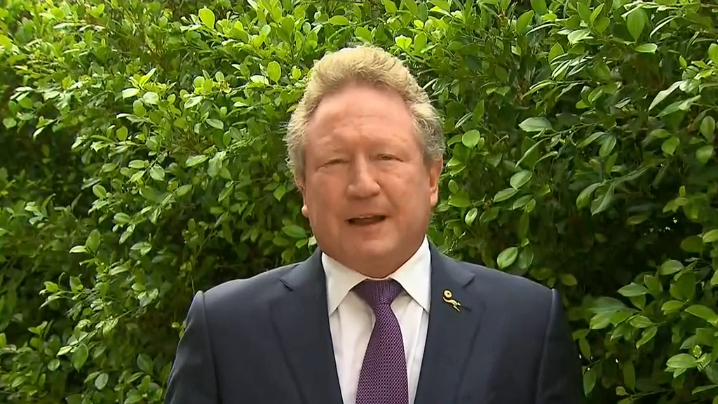 Twiggy Forrest's Covid-19 delivery