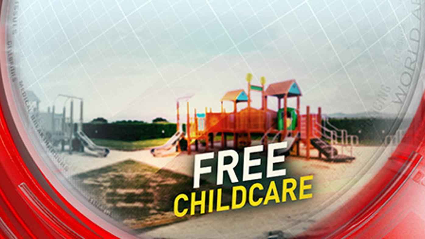 Free childcare