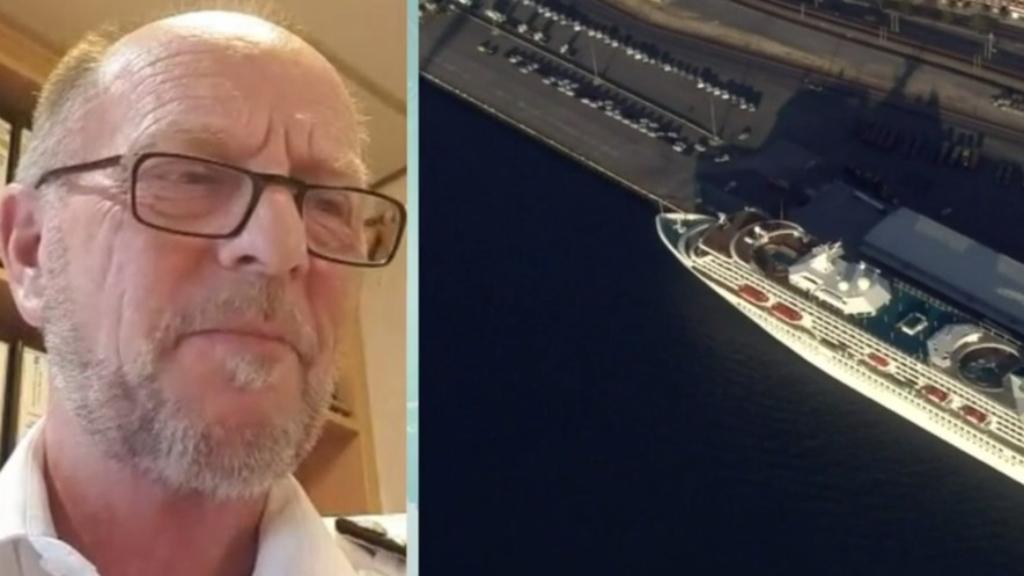 Captain Morten Hansen from the Artania cruise ship on being in quarantine