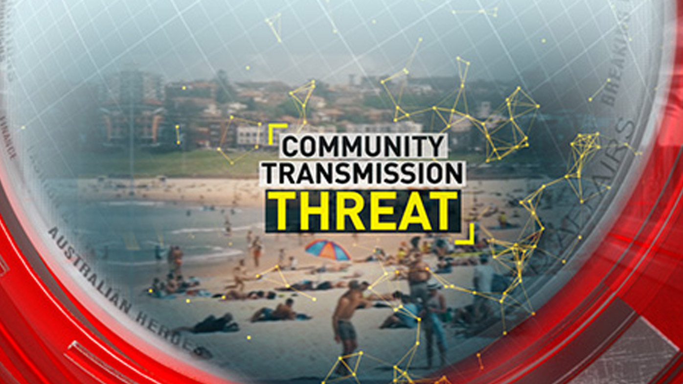 Community transmission threat