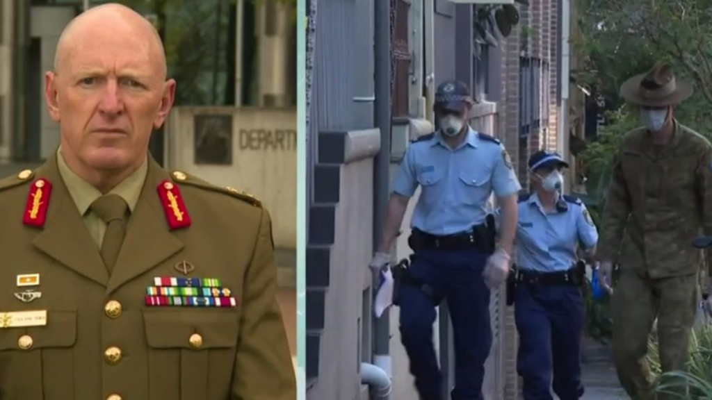 Top Australian Army General heads military taskforce to tackle COVID-19 outbreak