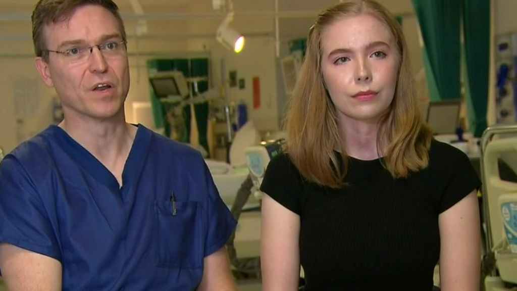 Meet the father and daughter team saving coronavirus patients at Victoria's Austin Hospital