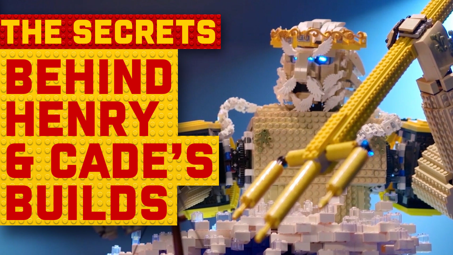 The secret behind LEGO Masters winners Henry and Cade's creations