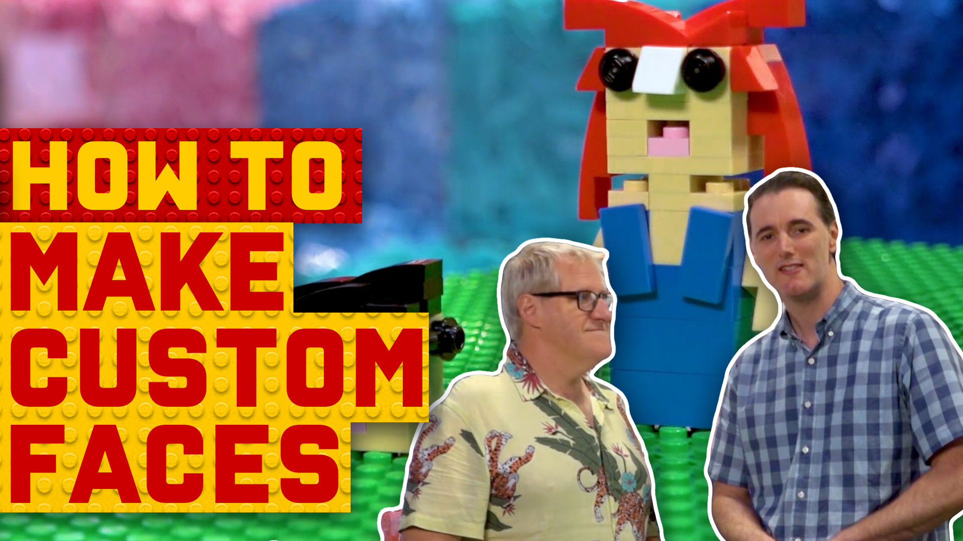 How to make people out of LEGO