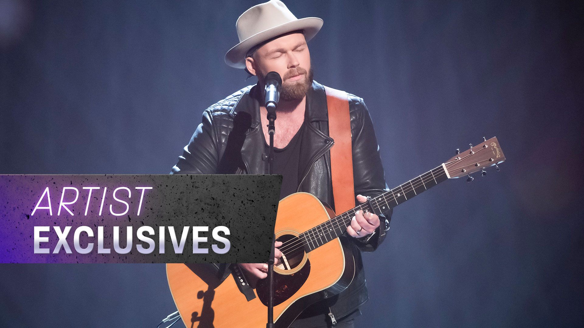 Timothy James Bowen sings original song to his wife during Blind Auditions