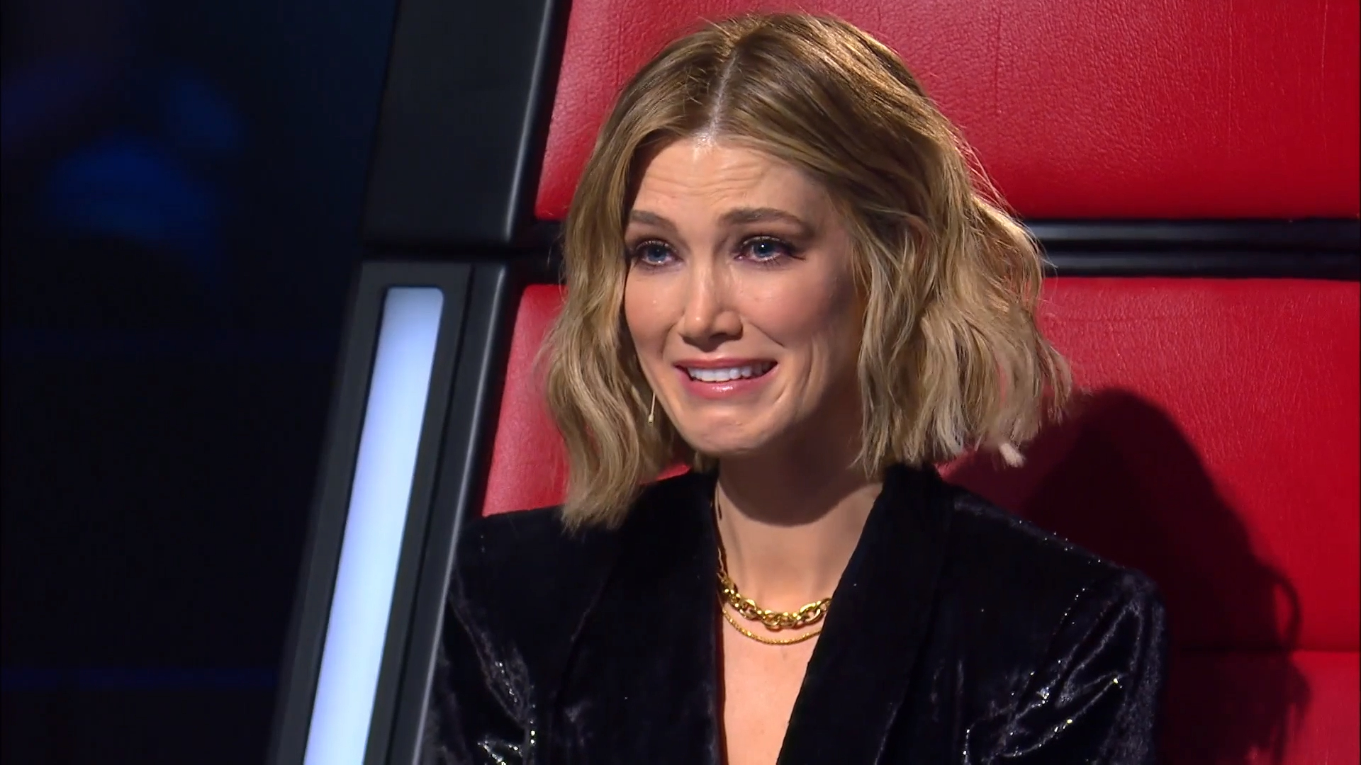 Delta Goodrem moved to tears by heartbreaking memory