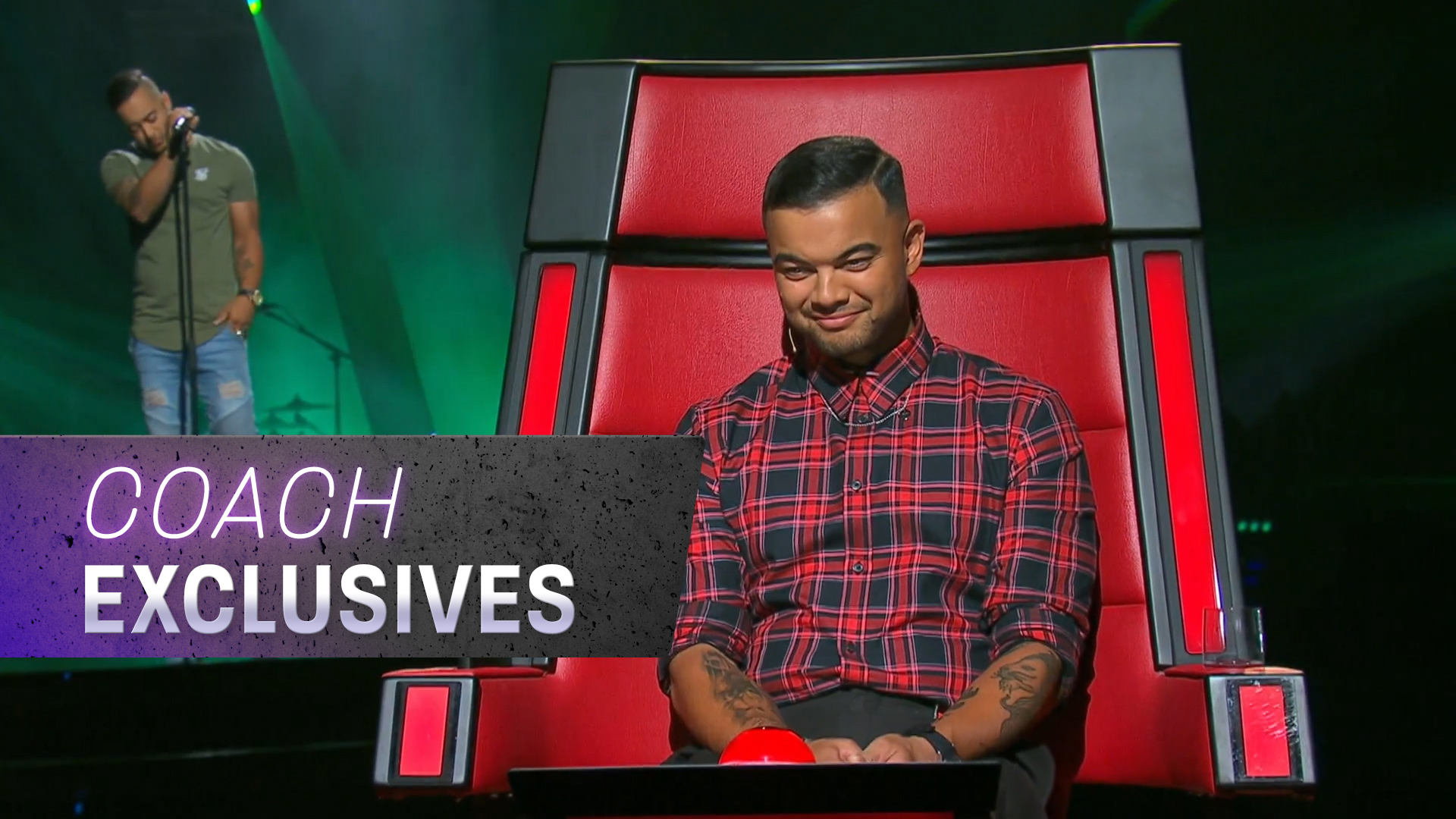 Guy Sebastian hears his brother Chris audition