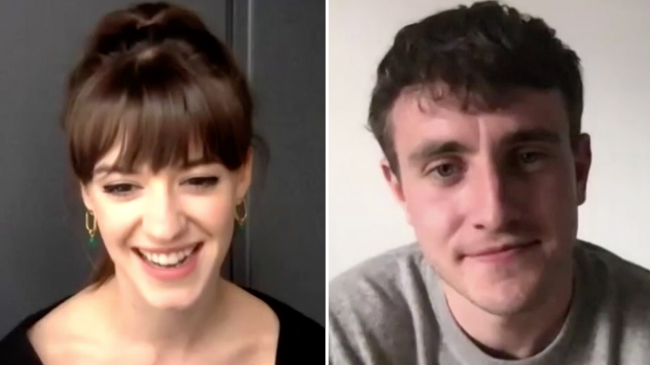 'Normal People' stars reveal what it's like filming steamy scenes