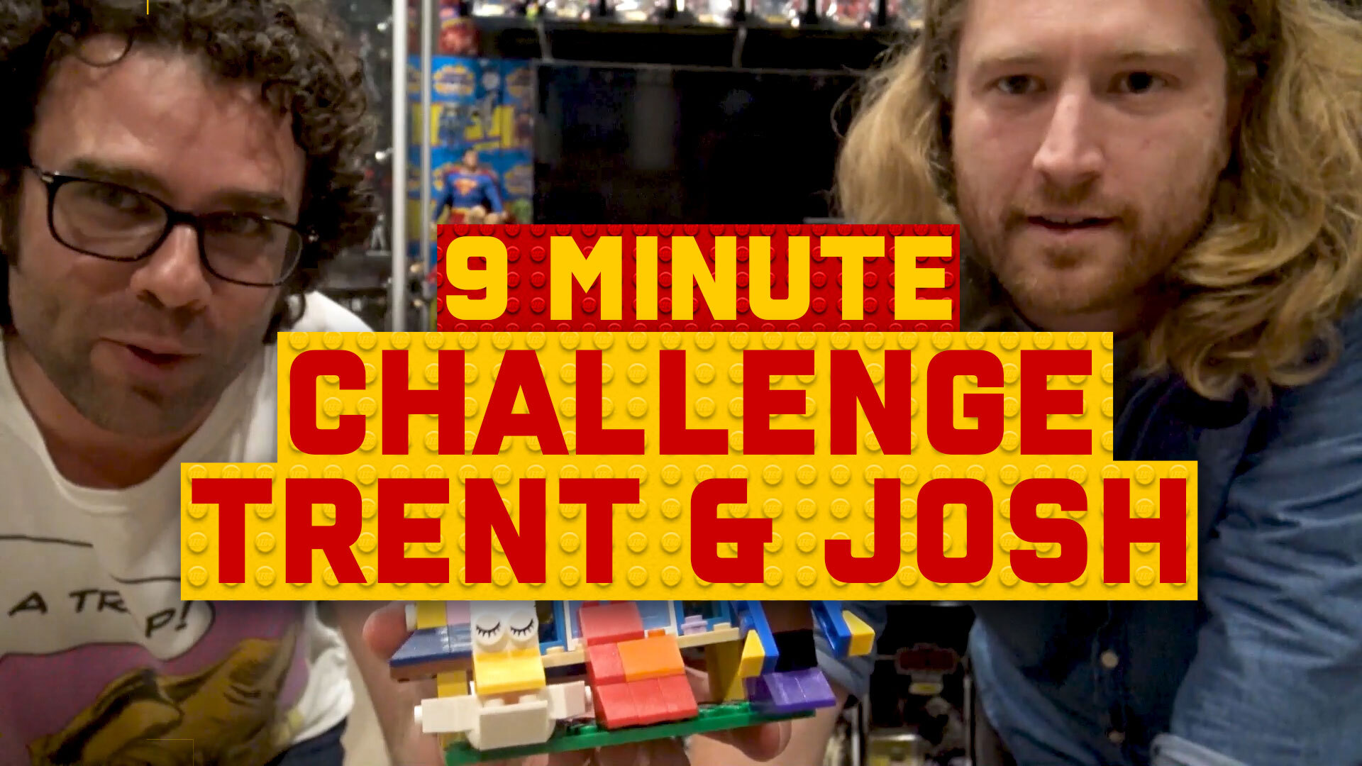 9-Minute Speed Build Challenge: Trent and Josh