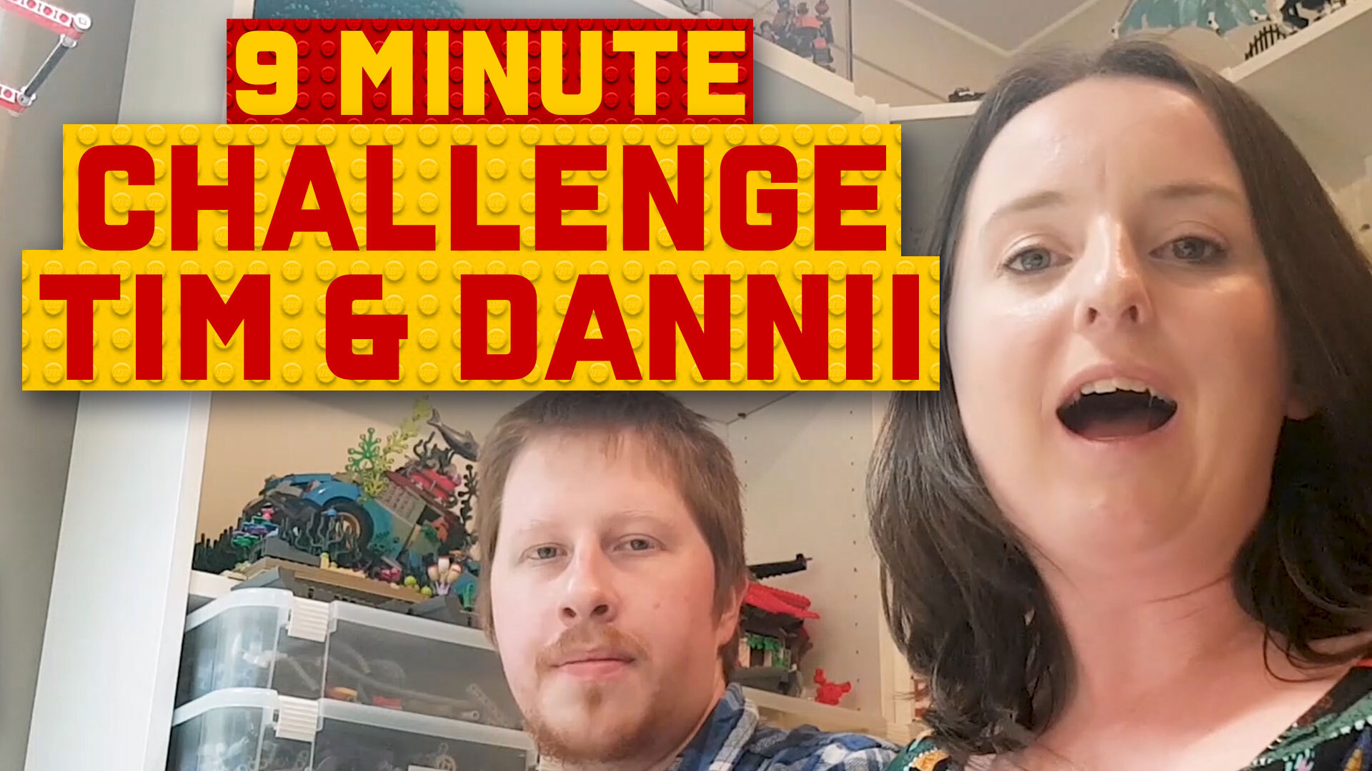 9-Minute Speed Build Challenge: Tim and Dannii