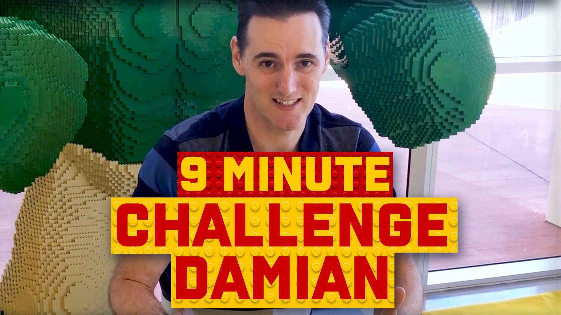9-Minute Speed Build Challenge: Damian