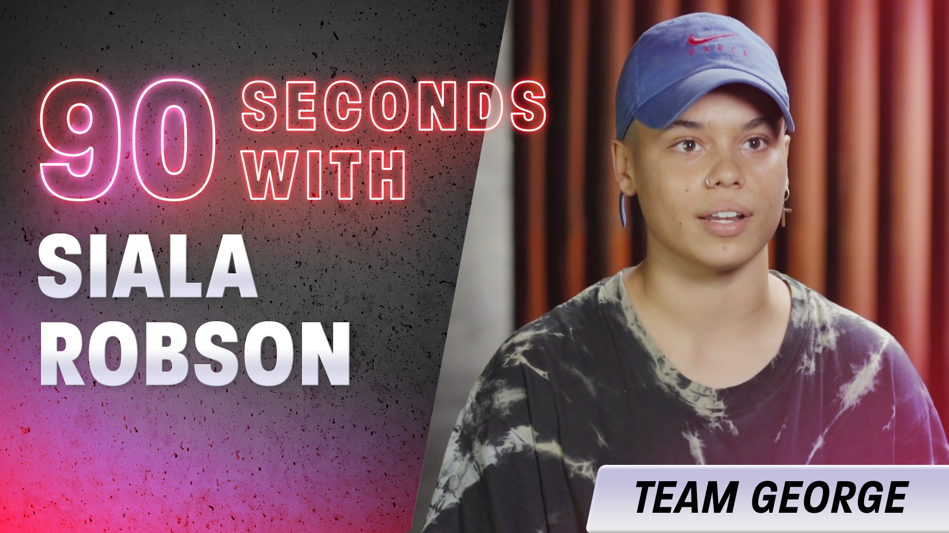 90 Seconds with Siala Robson