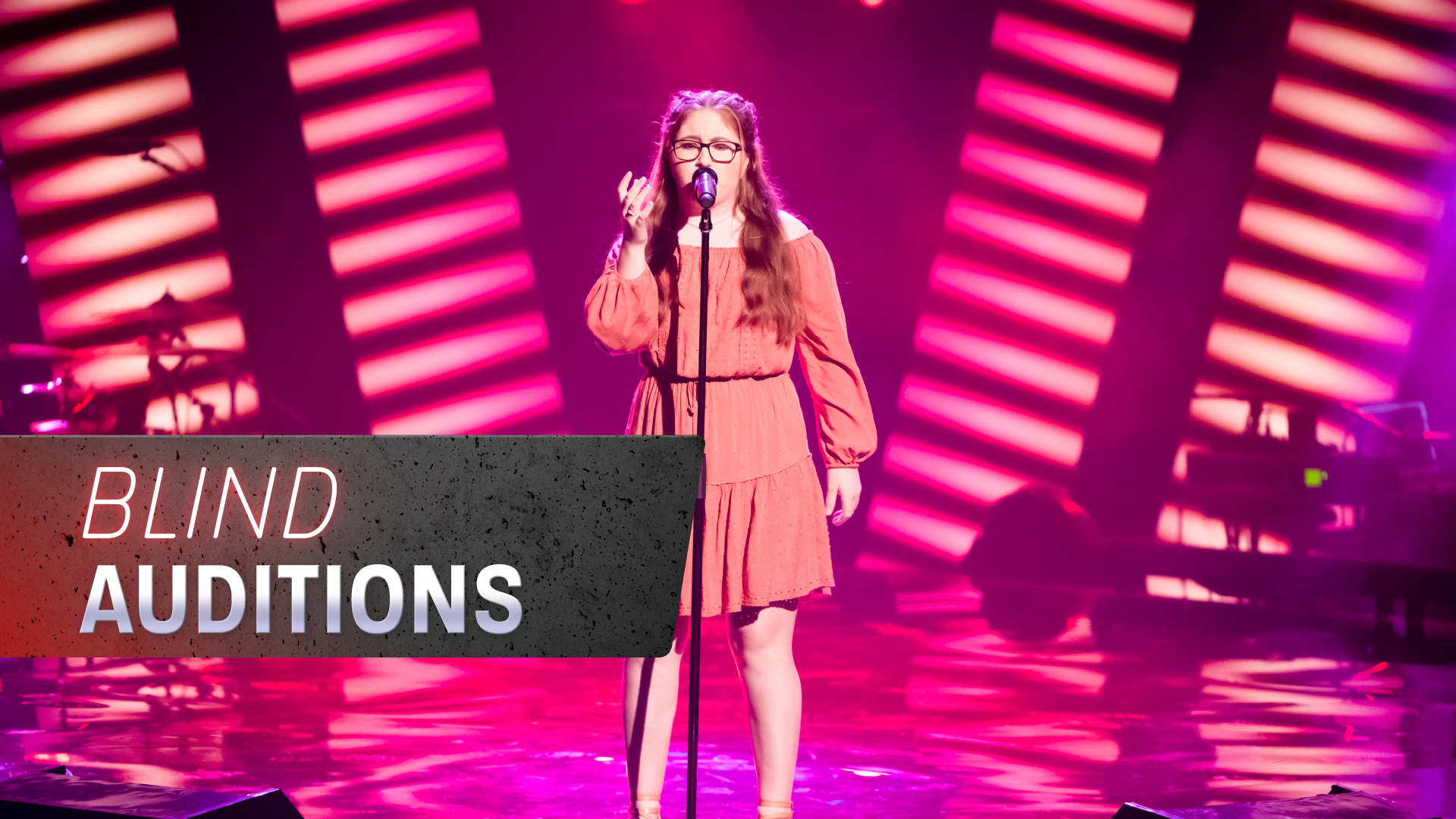Blind Auditions: Maddy Thomas 'Nothing Breaks Like a Heart'