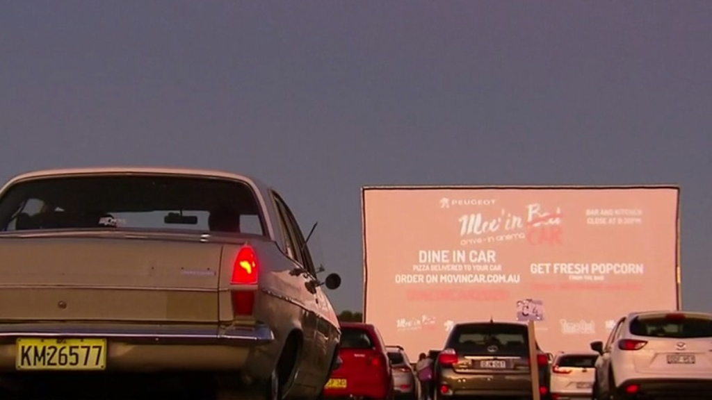 Exclusive first-look at Sydney's new drive-in cinema