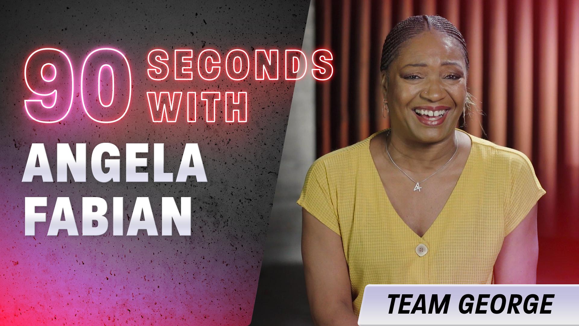 90 Seconds with Angela Fabian