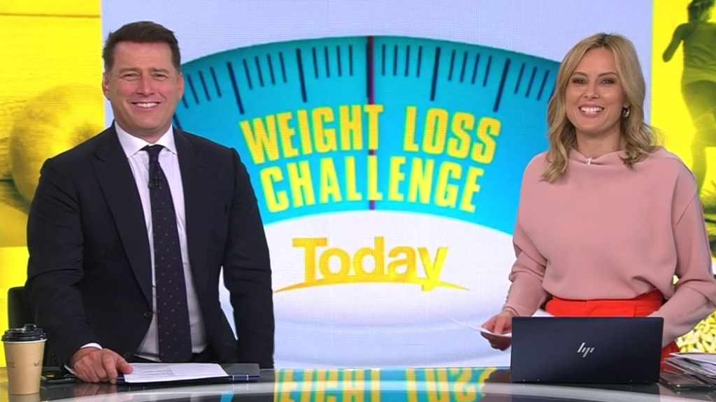 Karl Stefanovic reveals how many kilos he's lost two weeks into weight loss challenge