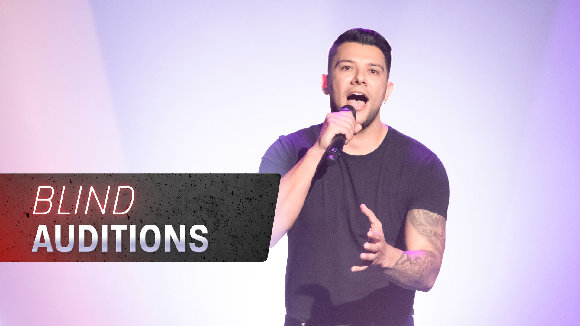 Blind Auditions: Ricky Muscat 'Maria Maria'