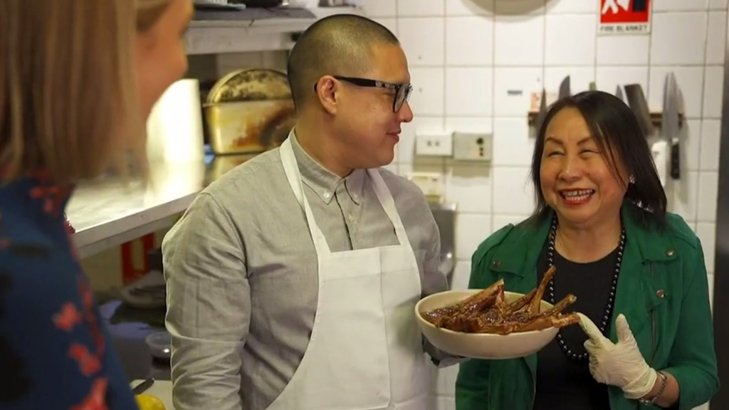 Celebrity chef shares secret recipes inspired by his mum