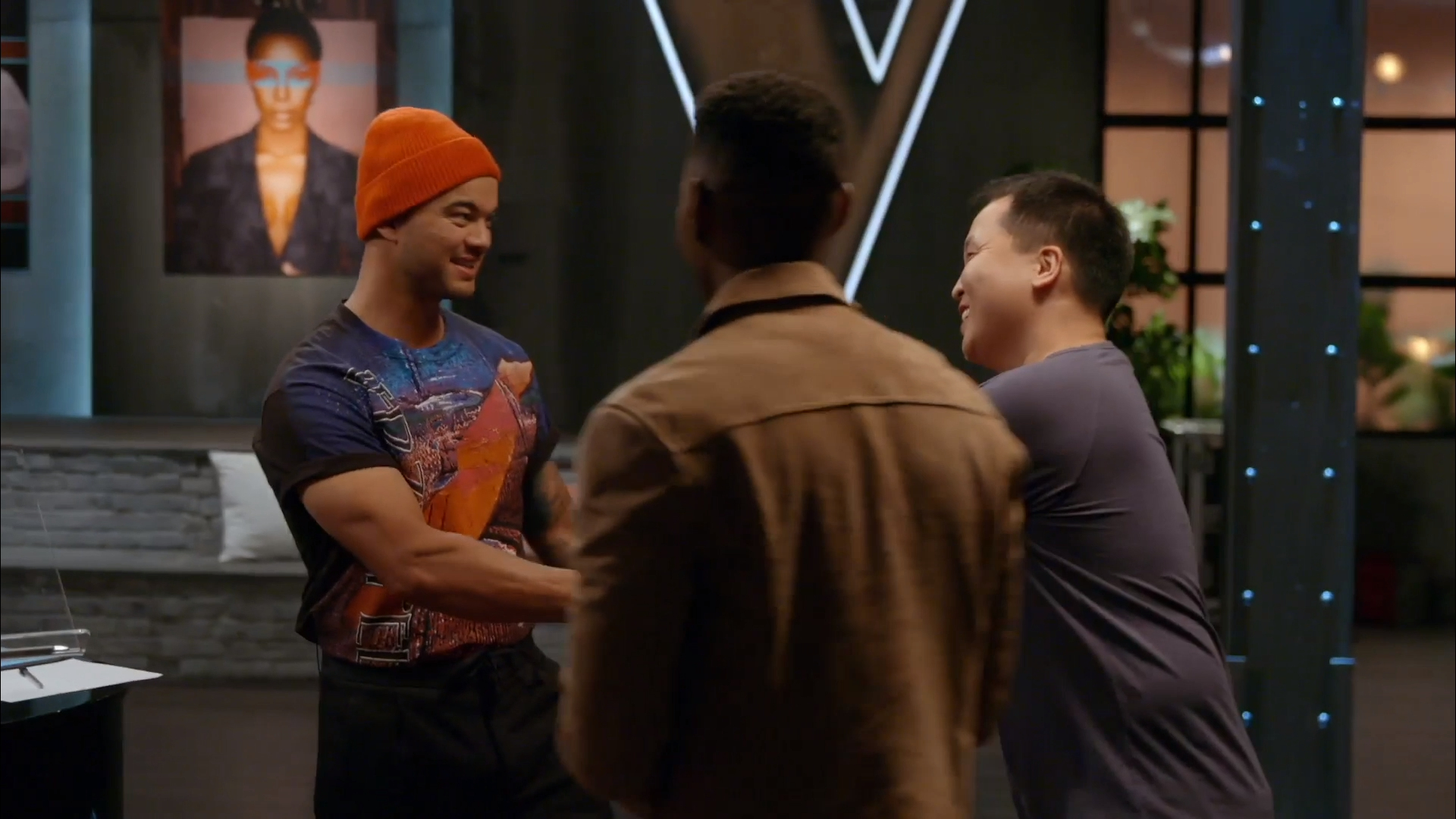 Guy Sebastian gets excited over Johnny and Bukhu's Battle