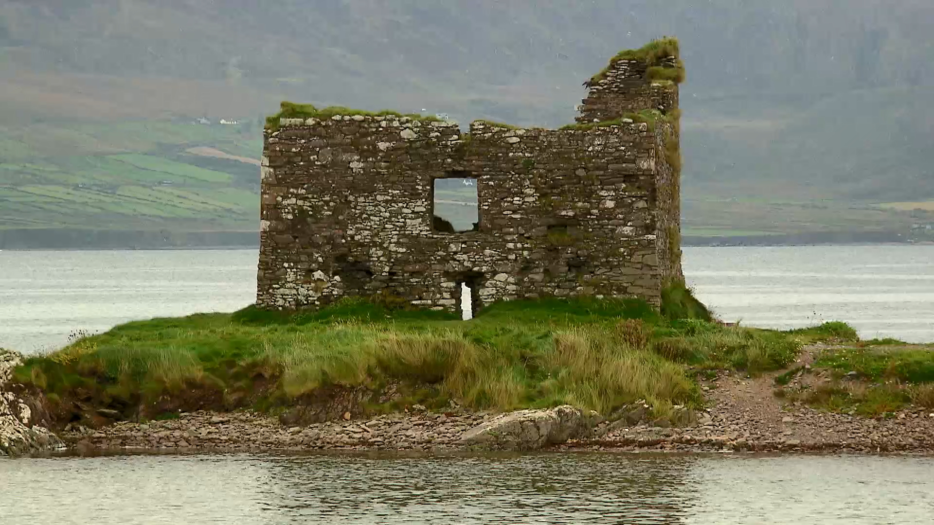Brodie tours historic sites in County Kerry