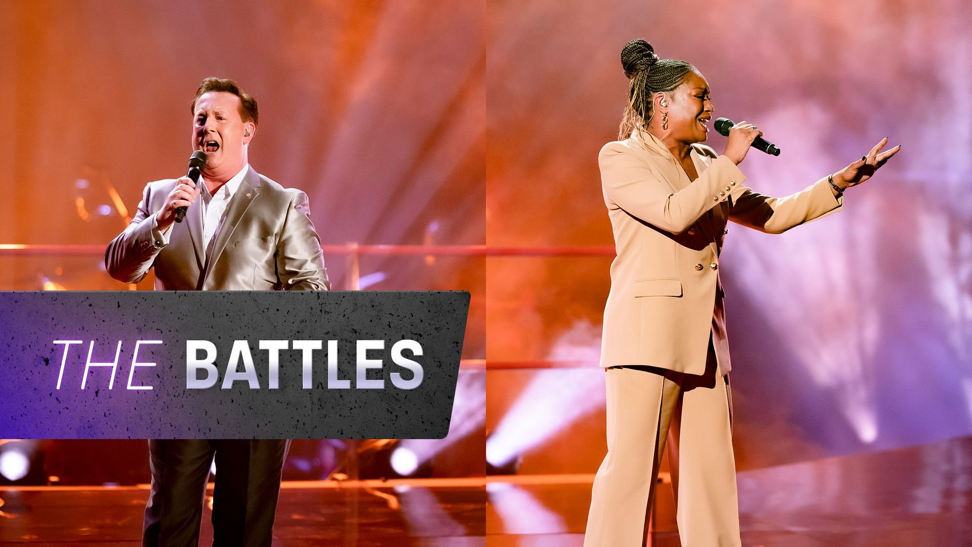 The Battles: Jonathon vs Angela 'Stand by Me'