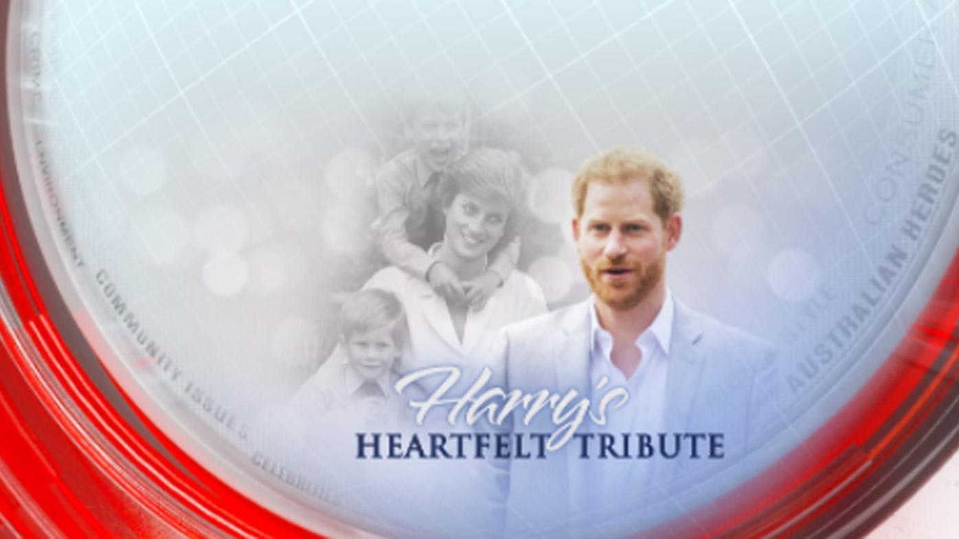Harry's heartfelt tribute