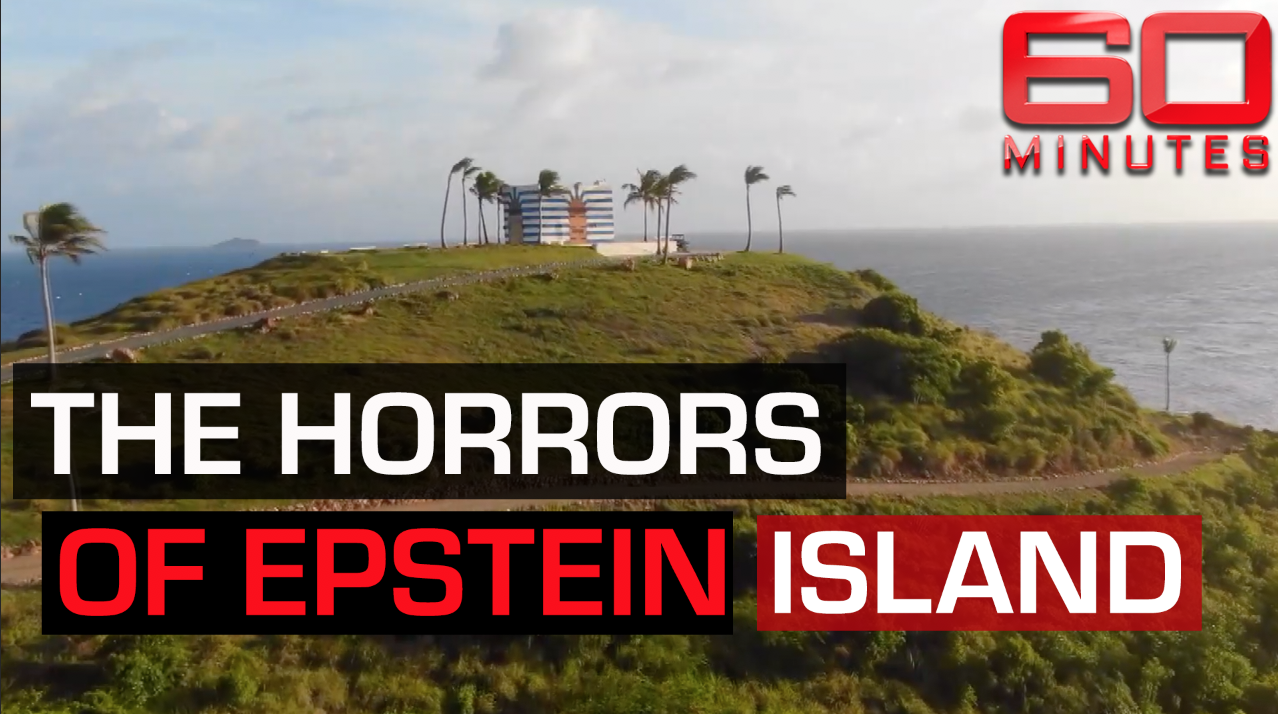 Jeffrey Epstein's private island at the centre of sex-trafficking investigation