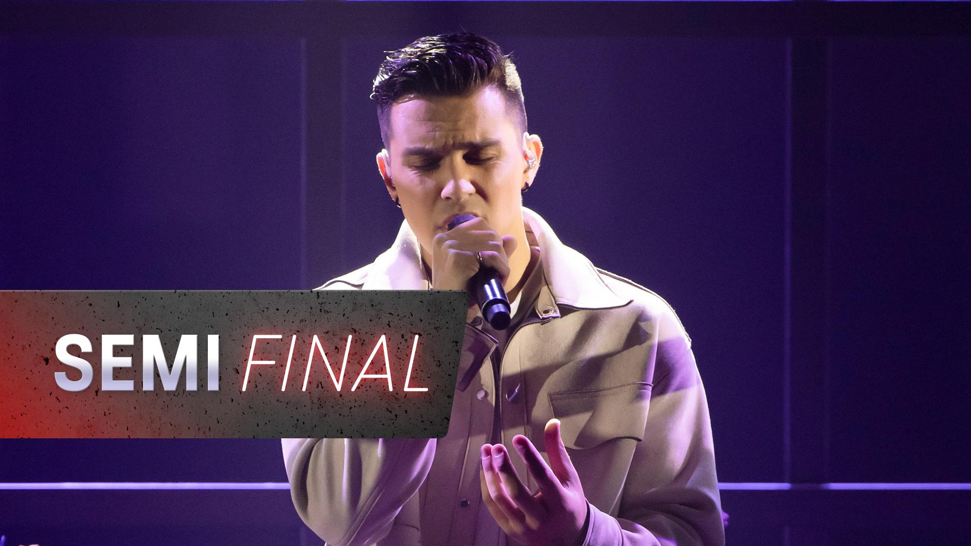 Semi Final: Jesse Teinaki 'Cellophane'